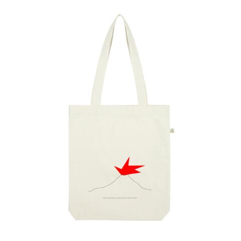 Santorini eruption / Shopper Tote Bag