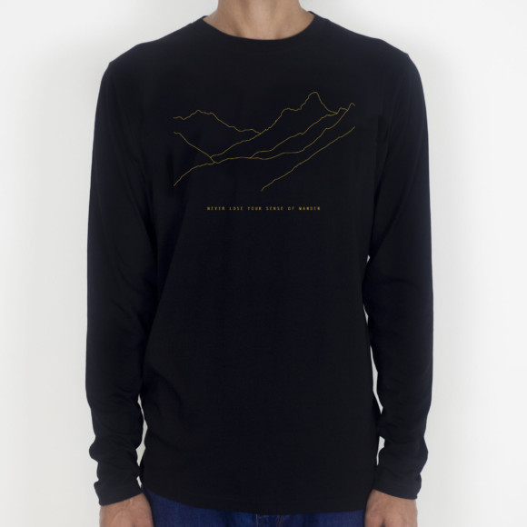 Travel long sleeve / Black